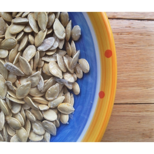 Make your own DIYRoasted Pumpkin Seeds